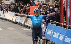 Alex Aranburu ganador de la 2ª etapa de la Itzulia entre Zalla y Sestao
