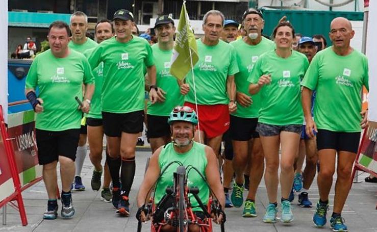 Una carrera por el alzhéimer
