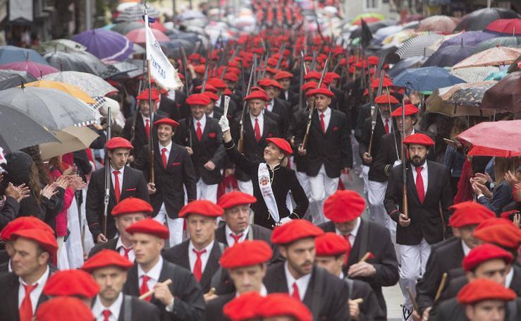 Desfile del Alarde Tradicional de Irun
