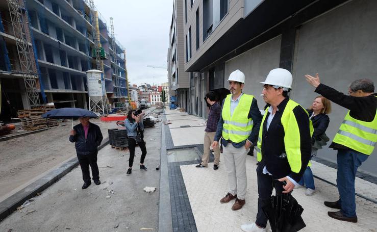 La calle Lizarra se abrirá parcialmente la próxima semana