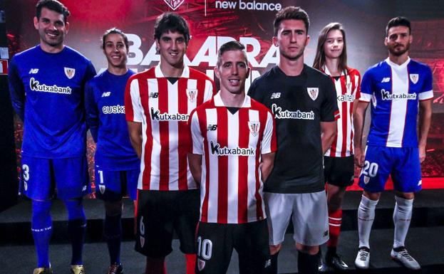 camisetas de futbol Athletic Club nuevas