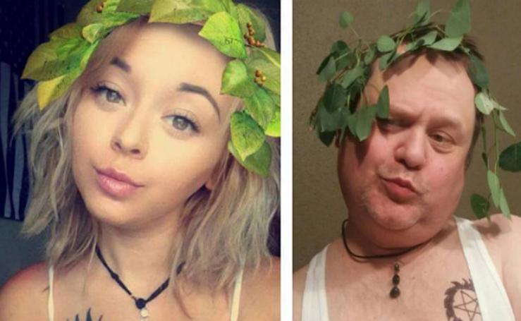 Un padre trolea a su hija en Instagram
