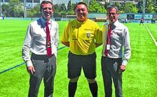 Árbitros de 14 países dirigen la Donosti Cup