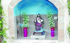 Una nueva figura cristiana acompaña a la vecindad de Barrio Plaza