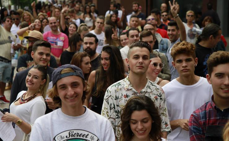 El casting de Gran Hermano en Euskadi, en imágenes