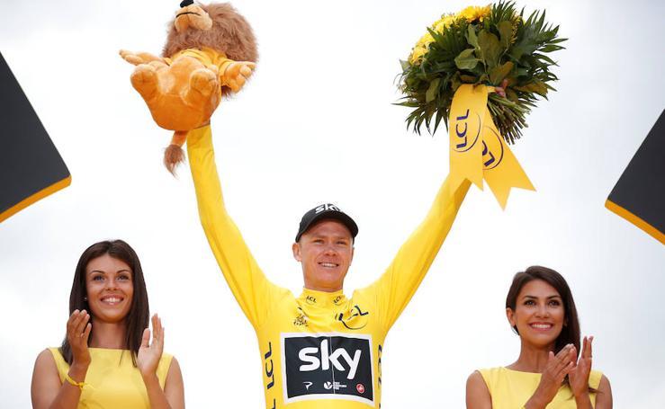 Chris Froome conquista su cuarto Tour