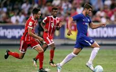 El Bayern amarga a Morata su debut con el Chelsea