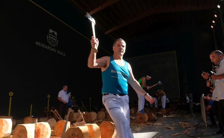 Azurmendi recupera la txapela de campeón de Gipuzkoa