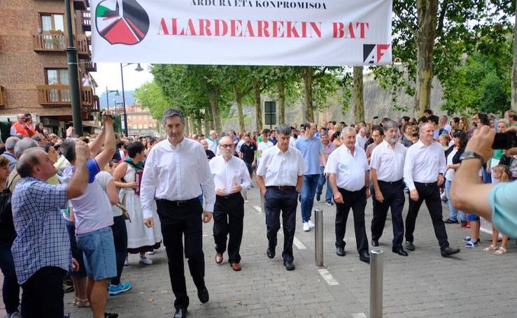 'Alardearekin bat' se estrenó con nota alta