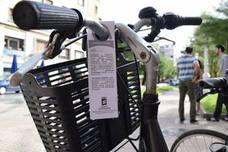 El Ayuntamiento donostiarra investiga la autoría de falsos avisos en las bicis