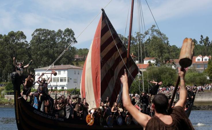 Los vikingos vuelven a invadir la costa gallega