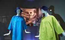 Udako jantziz jarraitzen du Getariako Cristóbal Balenciaga museoak
