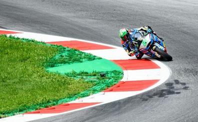Pasini, una milésima más rapido que Morbidelli en Moto2