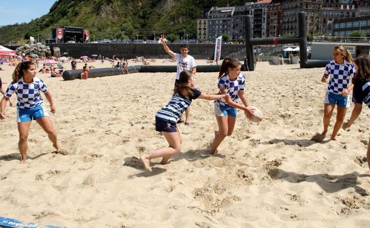 Torneo Semana Grande de rugby playa