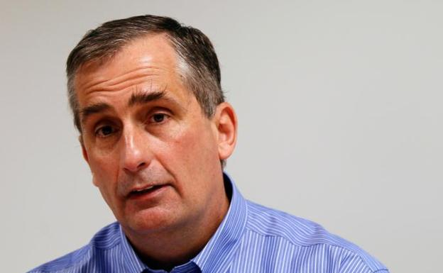 El director general de Intel, Brian Krzanich.