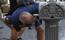 Un total de 20 provincias estan en riesgo por el calor