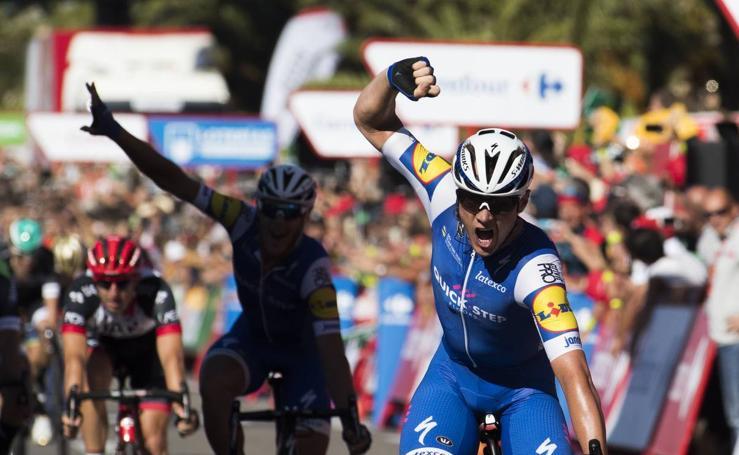 La 2ª etapa de la Vuelta España, en imágenes