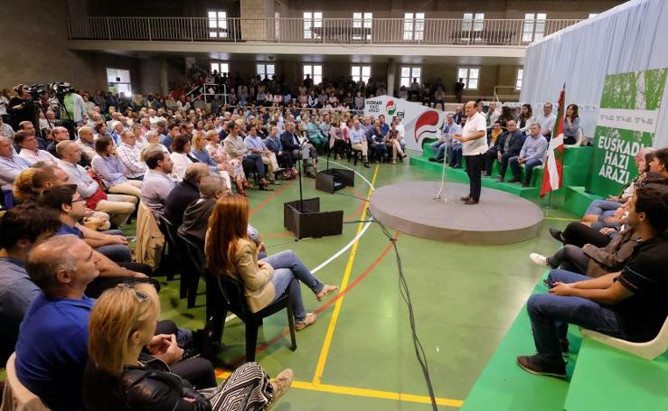El PNV abre el nuevo curso político con un acto en Zarautz