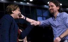 Iglesias, Colau y Domènech defenderán la soberanía de Cataluña en un acto de la Diada