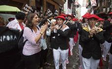 La compañía mixta Jaizkibel pide presencia policial durante su desfile en Hondarribia