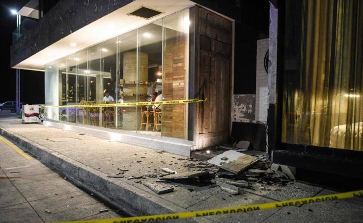 El terremoto de México, en imágenes