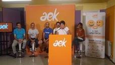 AEK-k matrikulazio kanpaina abiatu du, «%100 afektiboa»