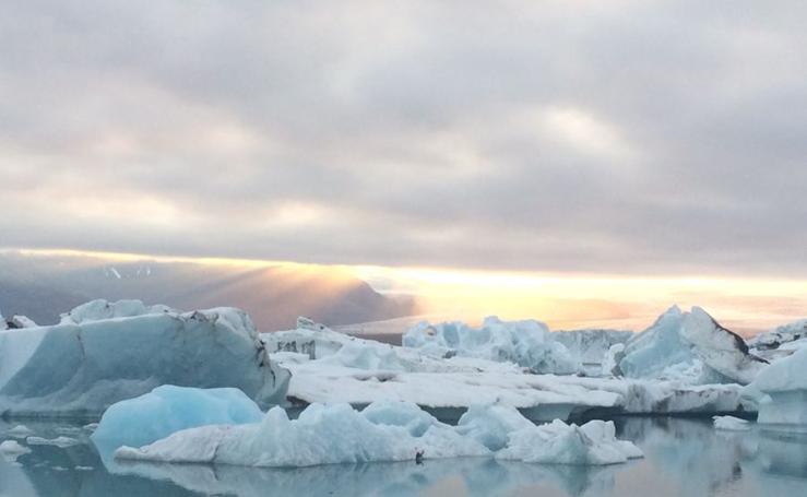 Skatafellsjökull y Jökulsárlon