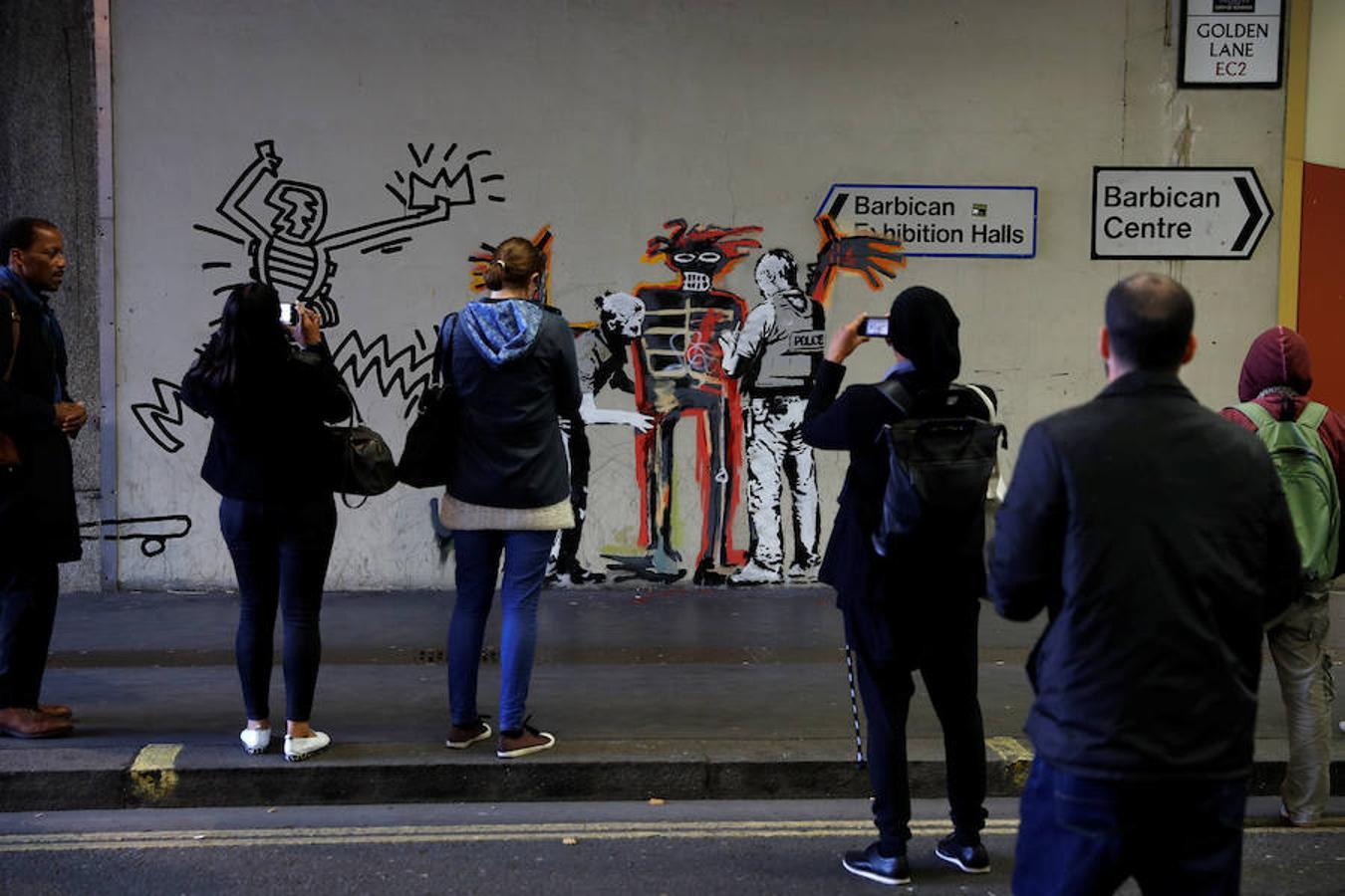 Banksy sorprende a los viandantes de Londres