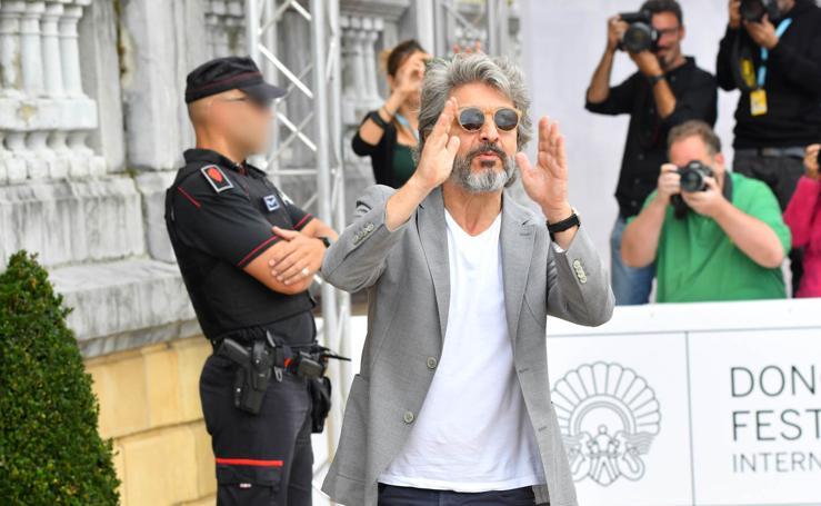 Ricardo Darín ya está en Donostia