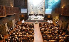 Emotivo último adiós a Iñaki Beristain en Arantzazu
