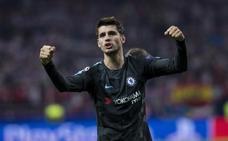 Morata: «Hemos mandado un mensaje, el Chelsea está aquí»
