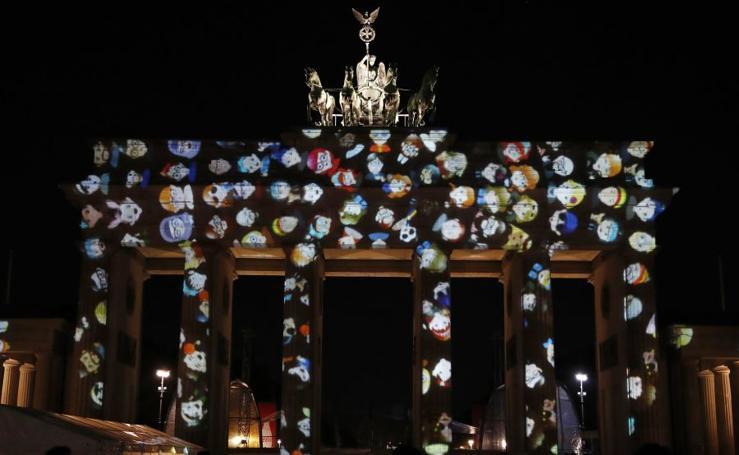 Berlín, luces y acción