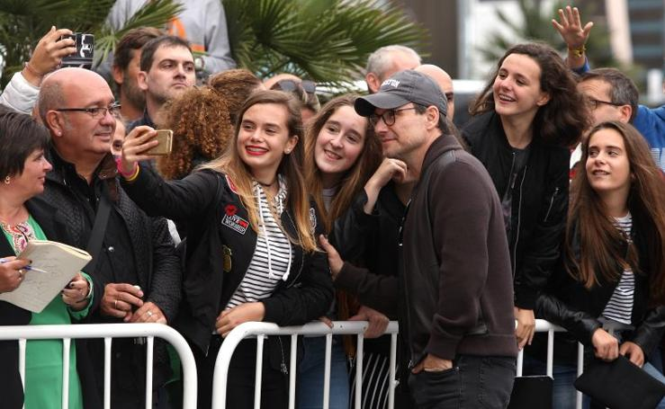 Christian Slater aterriza en Donostia
