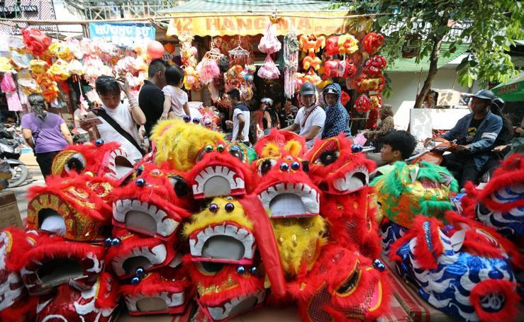 Vietnam se prepara para celebrar el 'Medio Otoño'
