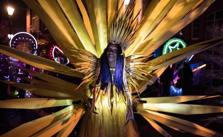 Festival de luces en Leeds