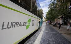 Municipios de Buruntzaldea chocan con la Diputación por las líneas de autobús
