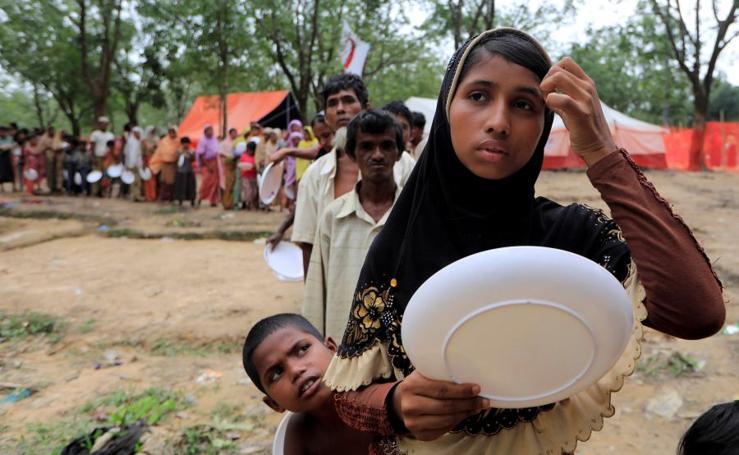 El drama de los refugiados rohingya