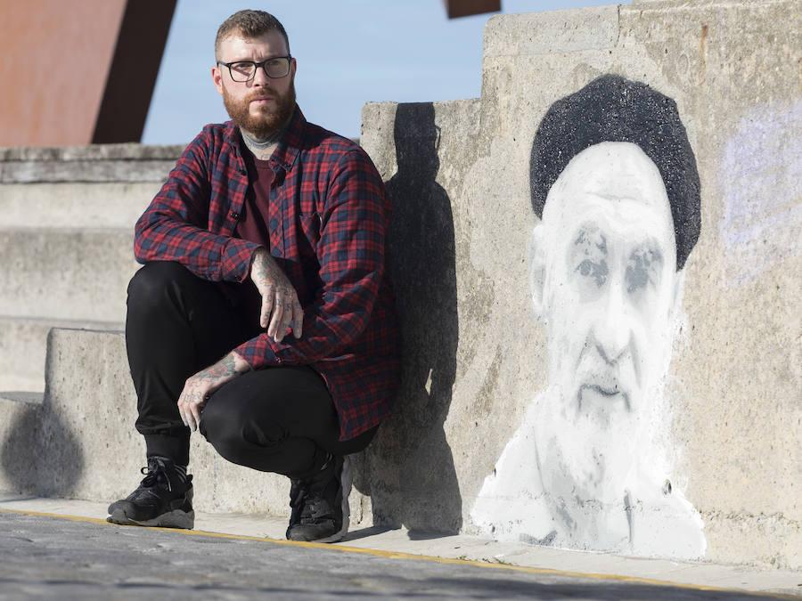 Un grafiti para Oteiza
