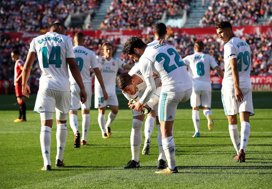 Los mejores momentos del Girona-Real Madrid, en imágenes