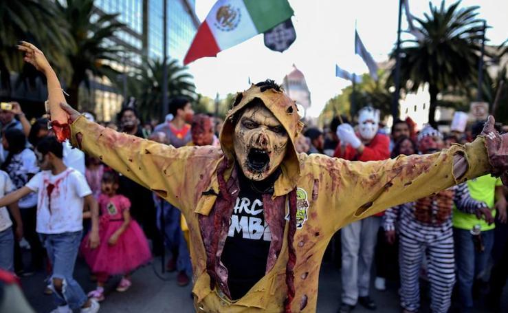 Los zombies salen a las calles de México