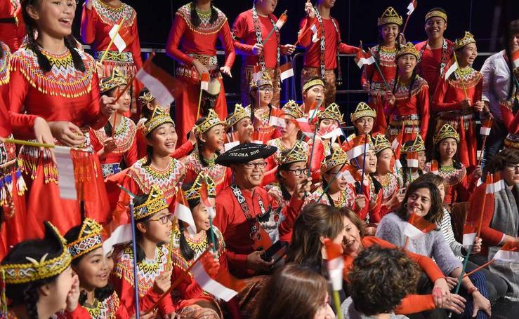 'The Resonanz Children's Choir' gana el certamen de coros de Tolosa