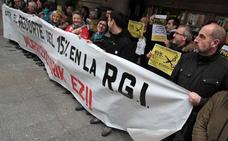 La RGI subirá un 1,5% el próximo año, igual que el sueldo de los funcionarios vascos