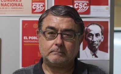 Un exterrorista dirige la movilización sindical