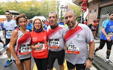 Behobia San Sebastián: Gran ambiente en la llegada a meta