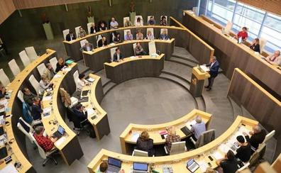 EH Bildu evita que las Juntas de Gipuzkoa no reconozcan la república de Cataluña