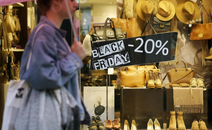 Las tiendas se suman al 'Black Friday'
