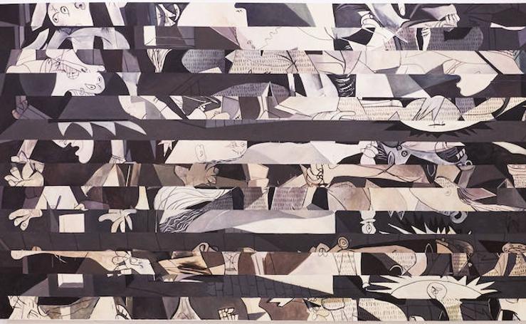 Homenaje al 'Guernica' de Picasso desde la mirada de Amondarain