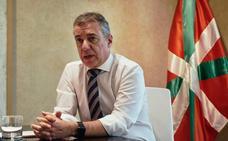 Urkullu destaca que el respaldo al Cupo en el Congreso «consolida nuestro autogobierno»