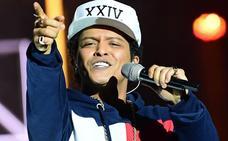 Bruno Mars anuncia conciertos en Madrid y Barcelona para el verano de 2018