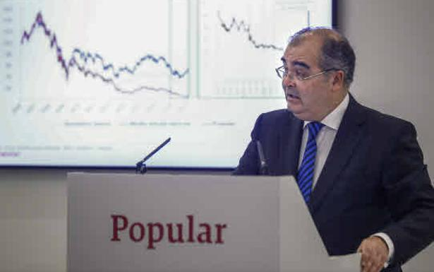 Ángel Ron, expresidente del Banco Popular./Efe